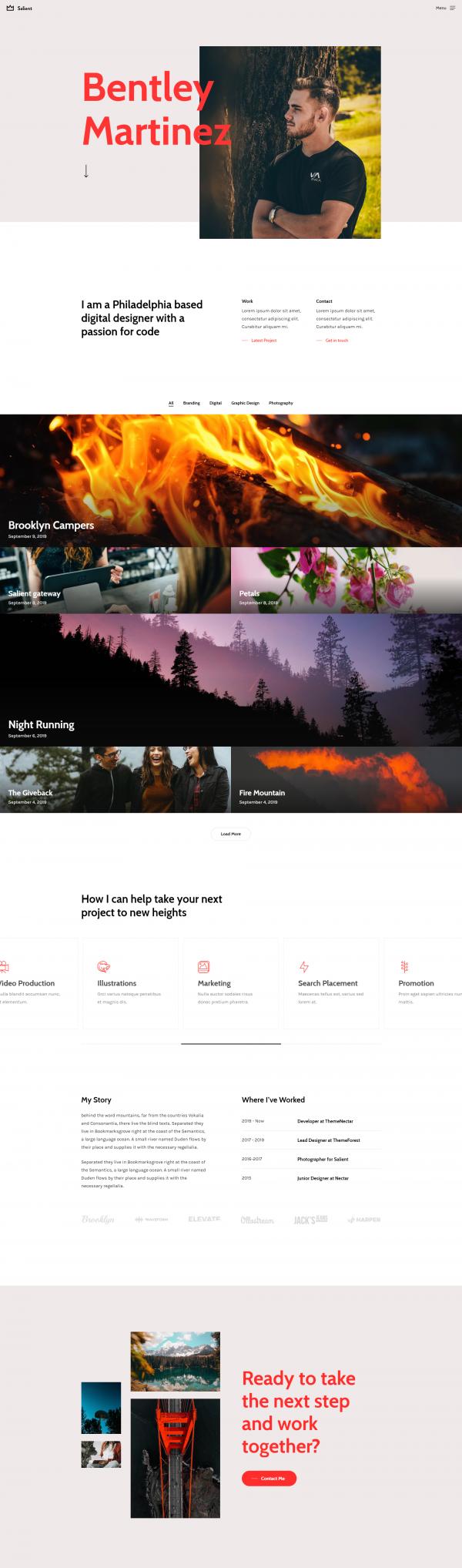Création site internet vitrine freelance