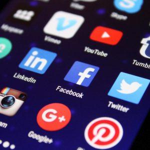 Création des pages sociales